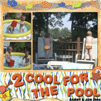 2 Cool For the Pool