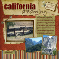 for Launa--California Dreaming
