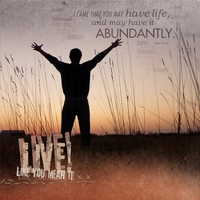 Task 14--Live Like You Mean It