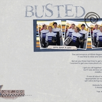 March week 1--Busted