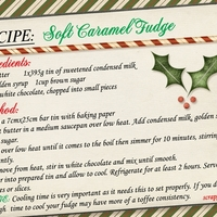 Nov Recipe - Soft Caramel Fudge