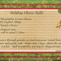 Holiday Cheese Rolls