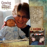 Growing Like a Weed - Jan. Crop for Bobbi