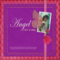 Angel for a day HNC purple challenge