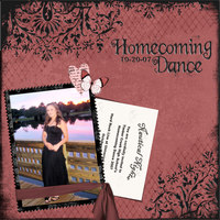 my daughters homecoming