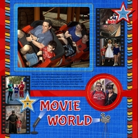 Super Heroes (Movie World)