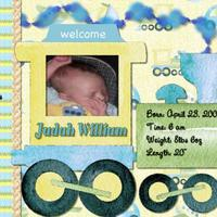 Introducing Judah William