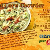 2-1-09SBS Souper Recipe Cod Corn Chowder