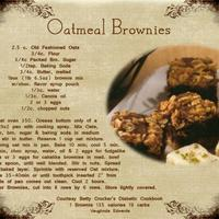 3-14-09 Decadent Deserts Oatmeal Brownies