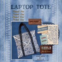 Thank You MaryJo! Laptop Tote!