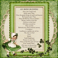 Irish Blessing- Better than a Scotch Blessing!