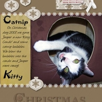Catnip Kitty Christmas