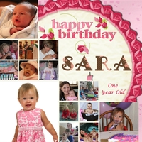 Sara's First Birthday