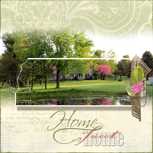 Reflection - Home Sweet Home