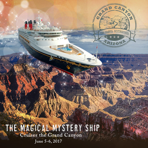 Magical Mystery Ship Cruises the Grand Canyon