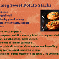 June 17 SG Recipe Swap: Vegetables - Nutmeg Sweet Potatoes