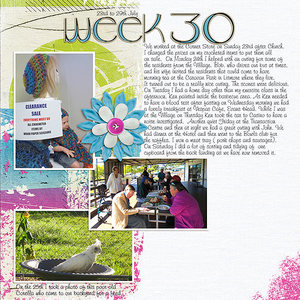 Project Life 2017 Week 30