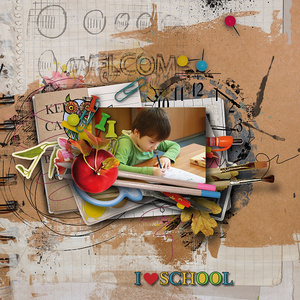School Memories by Sekada Designs