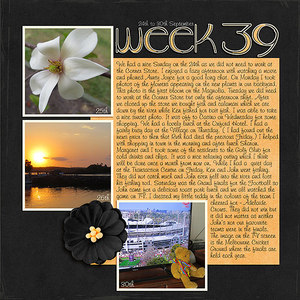 Project Life 2017 Week 39