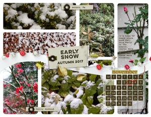 Early Snow - Calendar
