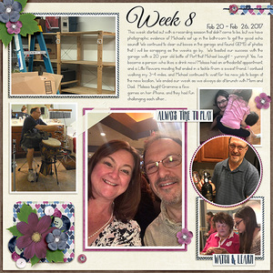 Susan's Project 52 Layouts