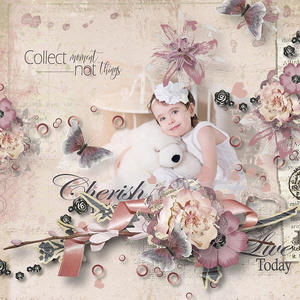 Scrap Girls Club-Cherish Every Moment