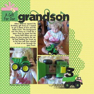A Gift for our Grandson