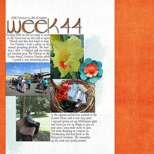 Project Life 2017 Week 44