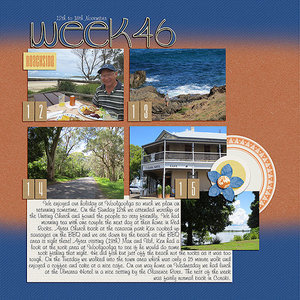 Project Life 2017 Week 46