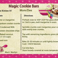 2017 SG Cookie Exchange Magic Cookie Bars