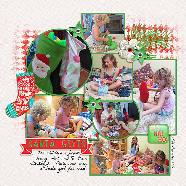 Tuesday Challenge  9th Jan Newsletter - Santa Gifts
