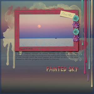 Dagi's Temp-tations: Painted Sky