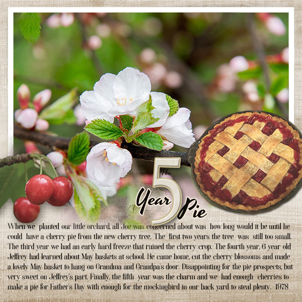 The 5 Year Pie  #Food