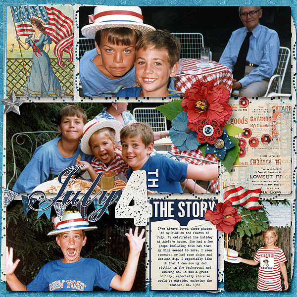 July 4th 1980s Style