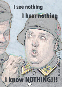 July 2018 SG ATC/Nothing: Sgt Schultz