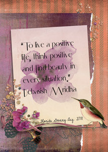 August ATC - Think Positive