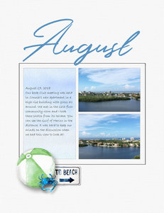 August Project Life 3