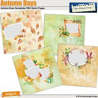 AMD Autumn Days Quick Pages