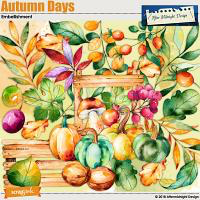 AMD Autumn Days Embellishments 1