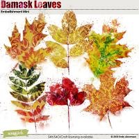 EMA Damask Leaves Embellishments