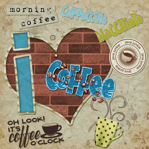 I Heart Coffee - Layout #9