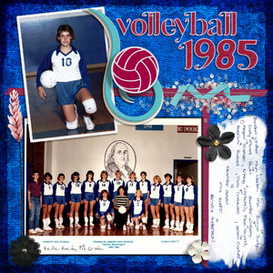 MIU Sep, LO #6 (15 Sep): Volleyball 1985
