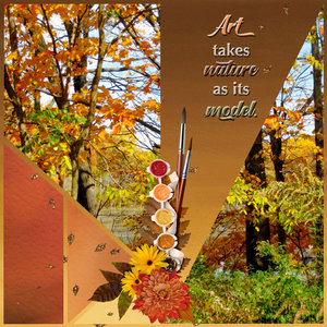 SG 14 Anniversary Mixed Media: Collage - Autumn