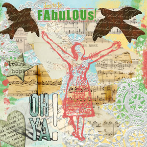 Mixed Media-Dare to Be Fabulous