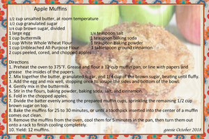 goosie_Apple Muffins 2