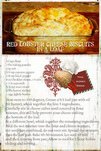 Red Lobster Loaf - Andrea