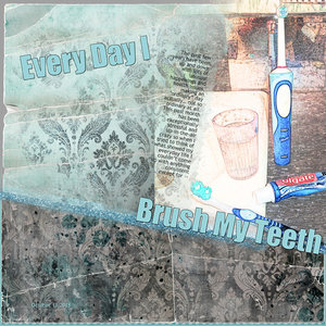 SG 14th Anniversary Tues Challenge: Everyday - Brush Teeth