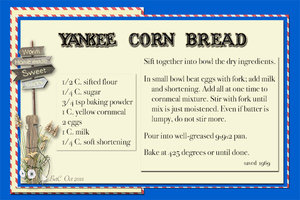 Yankee Corn Bread