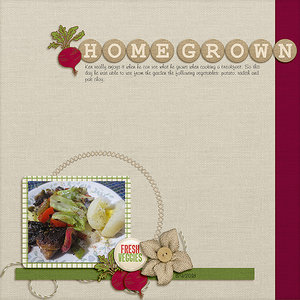 Tuesday Every Day Challenge - Home Grown