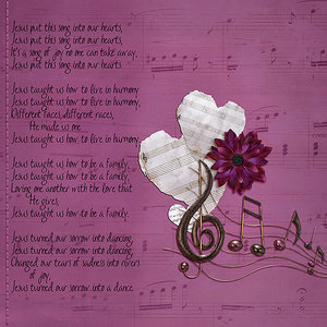 Friday Lyrics Challenge_Jesus Put This Song Into Our Hearts